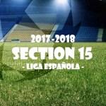 第15節 リーガ・エスパニョーラ(Liga Española)