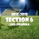 第6節 リーガ・エスパニョーラ(Liga Española)
