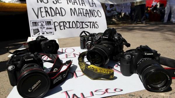 defensores y periodistas asesinados