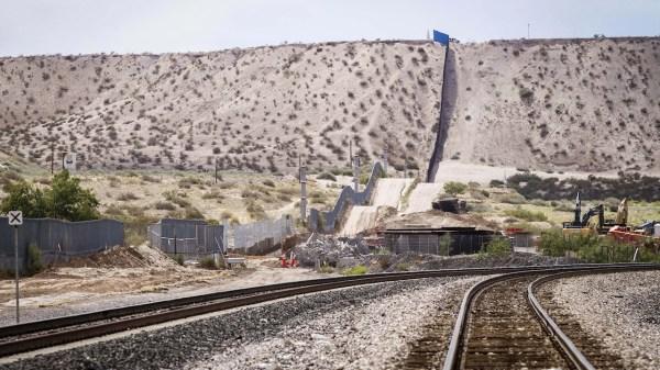 Frontera muro Mexico Estados Unidos wall Texas