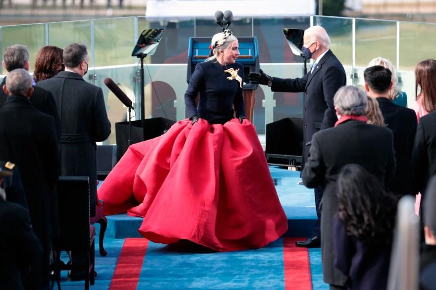 gaga lady gaga Biden