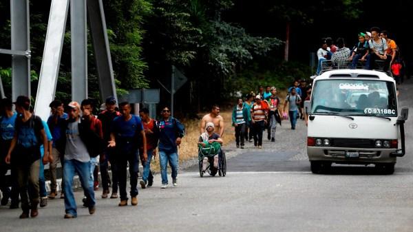 migración familias migrantes de Centroamérica, nuevas migraciones