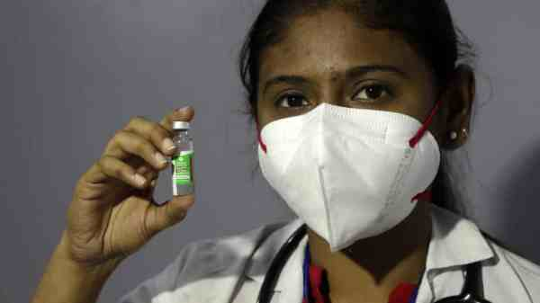 India vacunas