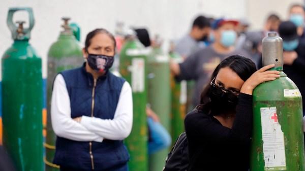 Oxigeno Coronavirus Mexico. Escasez de oxigeno