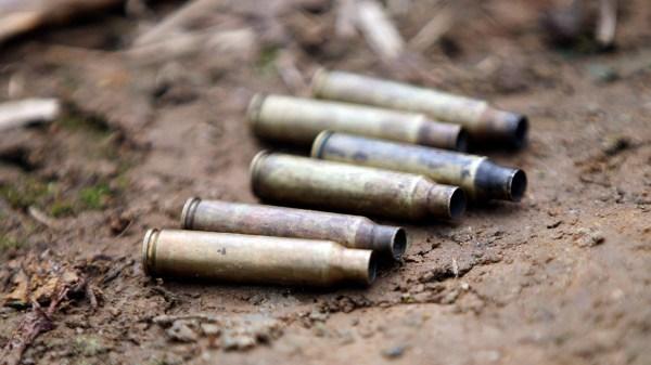 Foto de balas para ilustrar asesinato- Candidatos agredidos