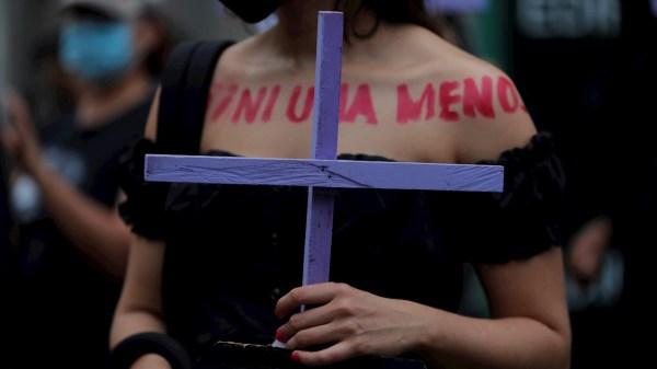 mujeres detenidas 8M