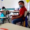 Foto de un niño en la escuela