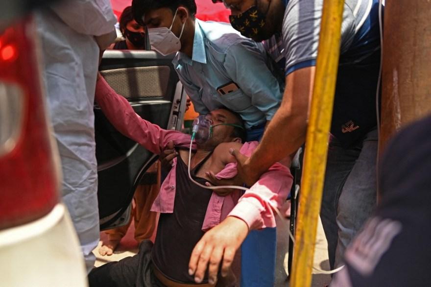 india Crisis Coronavirus en India Covid-19 oxigeno vacuna