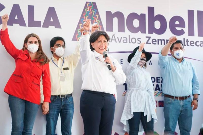 elecciones 2021, Anabell Ávalos Zempoalteca