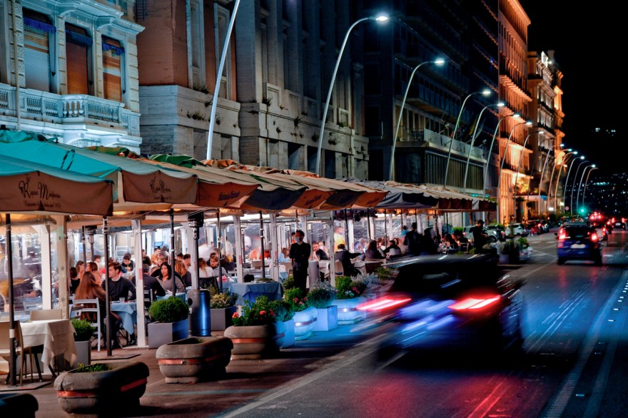 Restaurantes reapertura en italia