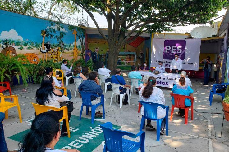 PES, Encuentro Solidario Morelos, elecciones 2021