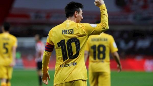 Superliga europea Lionel Messi