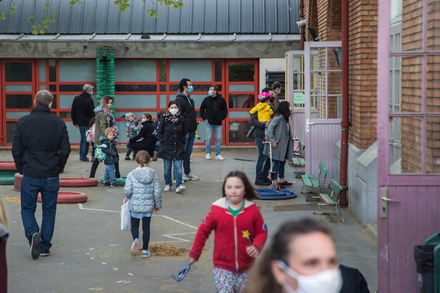 escuela regreso a clases escuelas Francia