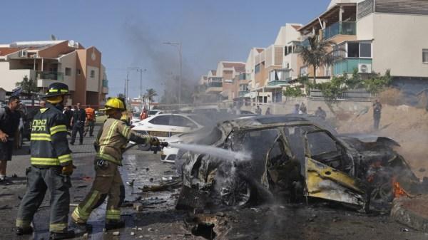 Foto de ataques en Gaza