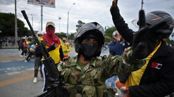 Cali Colombia protestas