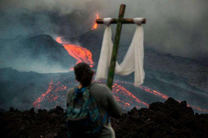 volcan guatemala pacaya desastre peligro