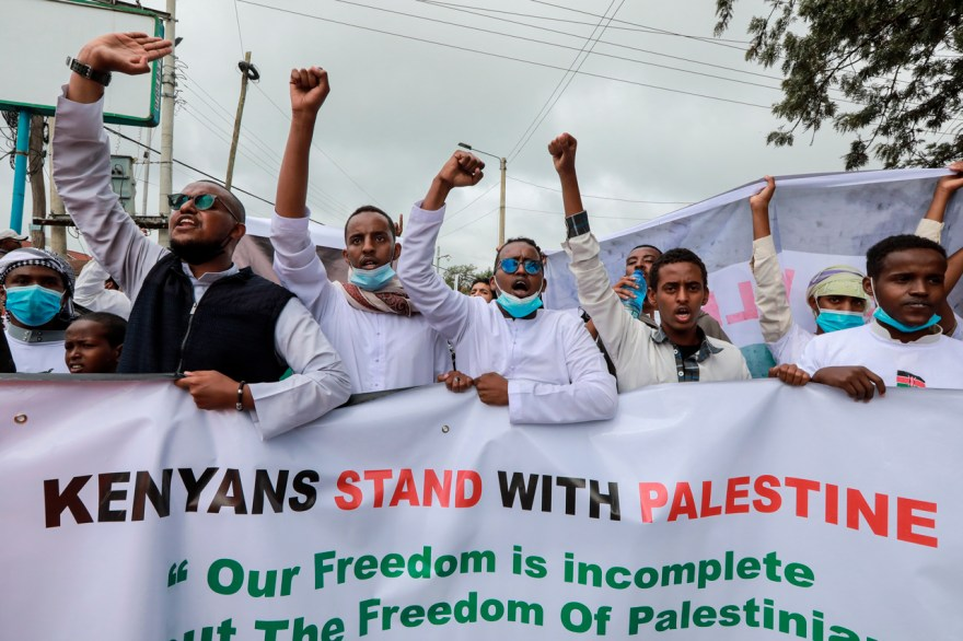 protestas en apoyo a palestina conflicto israel
