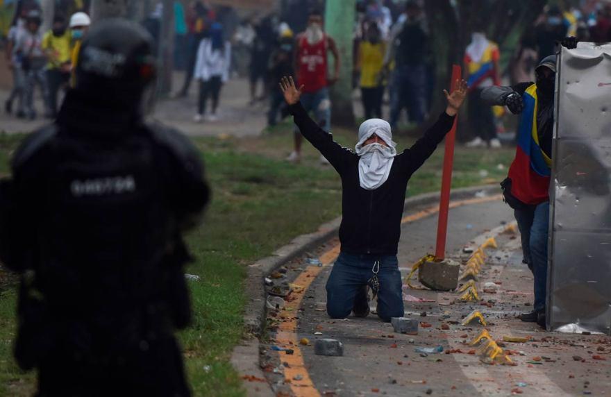 Cali, Colombia protestas manifestaciones