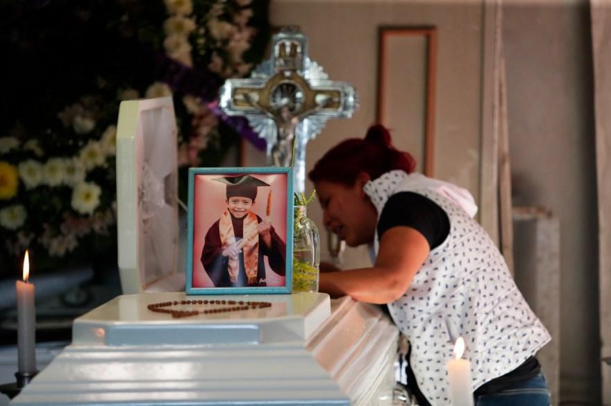 metro colapso méxico funeral victima brandon giovanni