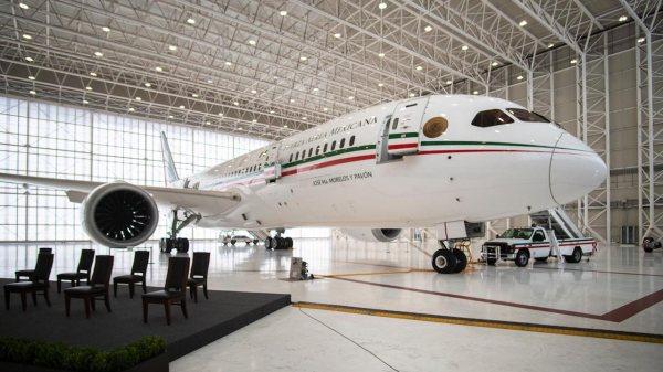 Foto del avión presidencial