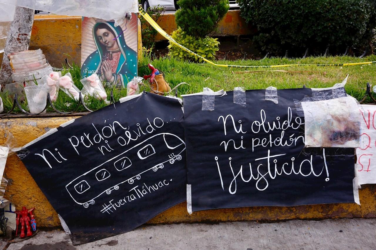 metro ciudad de mexico, colapso, caida del metro, linea dorada, L-12, linea 12, metro