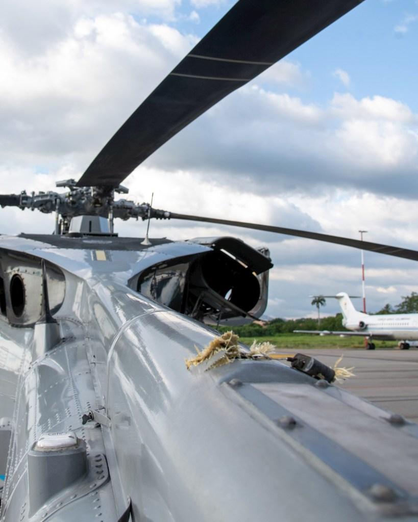 Atentado al presidente Ivan Duque helicoptero