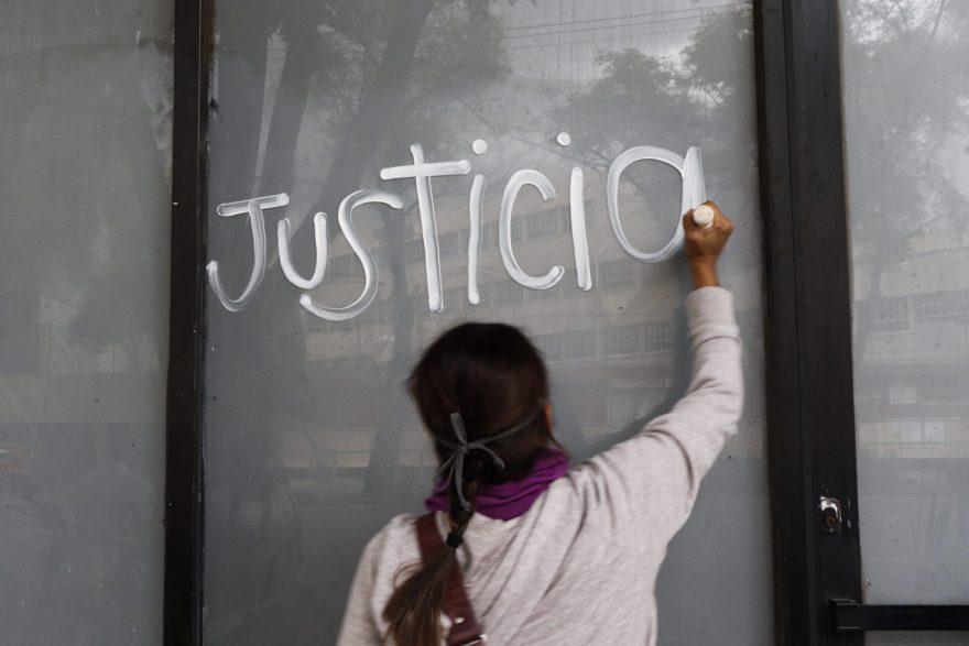 plantón protesta feminicidio Susana Garrido cdmx