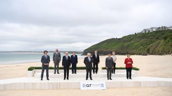 Foto oficial G7
