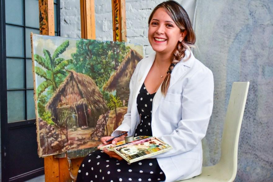 Silvia Ixchel, restauradora mexicana que irá al Museo del Prado