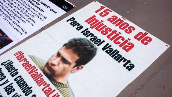 Israel Vallarta envia carta a AMLO Mary Sainz planton zocalo