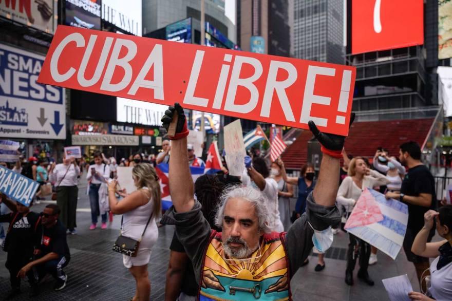 cuba protestas dictadura estados unidos