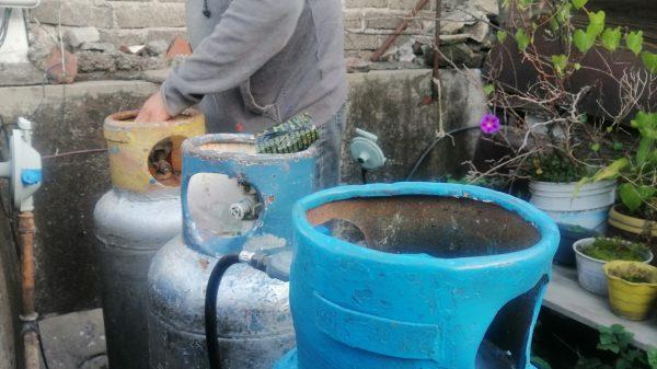 Foto de tanque de gas oara ilustrar note del gas bienestar