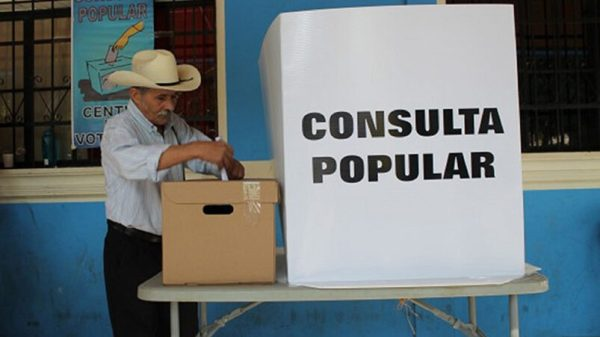 Consulta popular resultados
