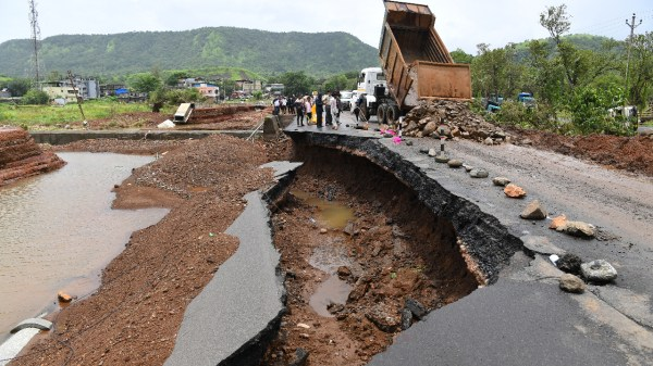 Foto de lluvias en India