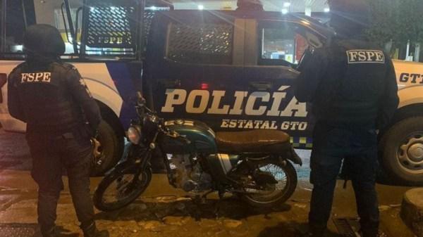Foto de policía para ilustrar la violencia en guanajuato