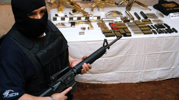 Foto armas en méxico