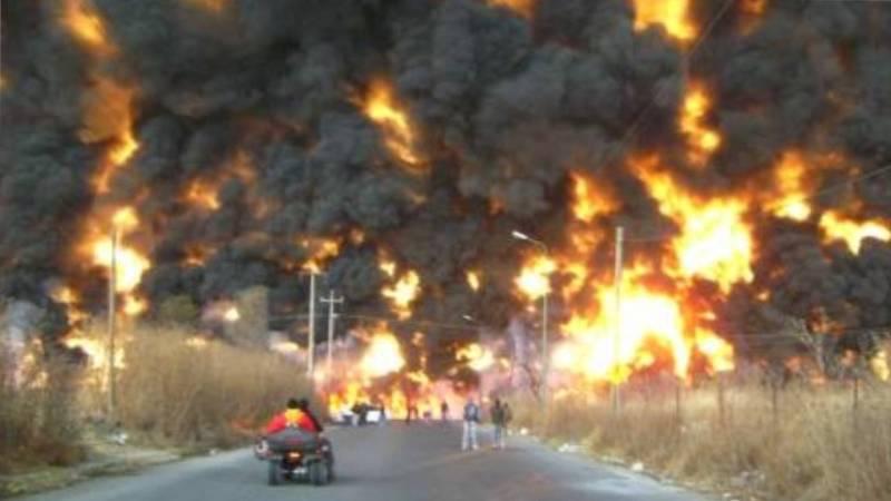 Explosión en San Martín Texmelucan, Puebla