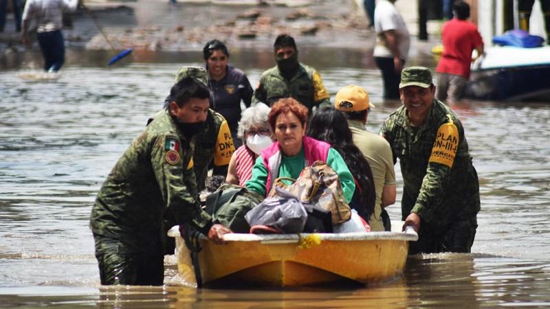 foto de la inundación en tula hidalgo