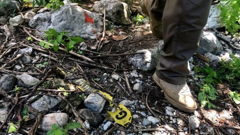 Foto de una zona de búsqueda para ilustrar nota sobre el caso ayotzinapa