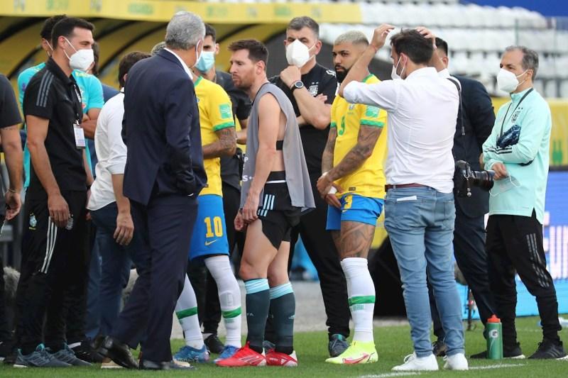 Cancelan partido Brasil-Argentina por jugadores que saltaron la cuarentena