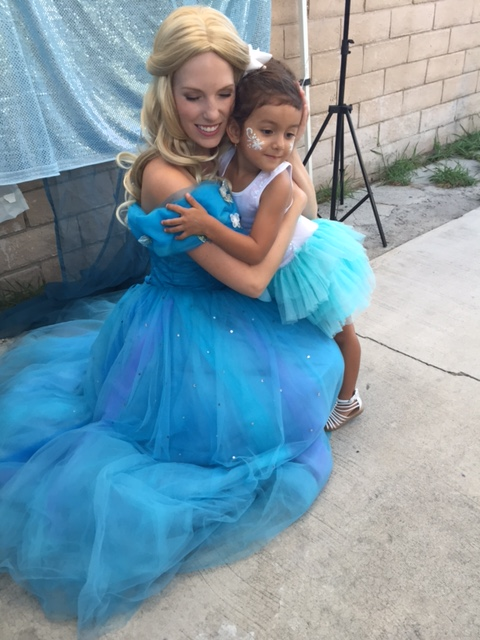 Hugs with Cinderella