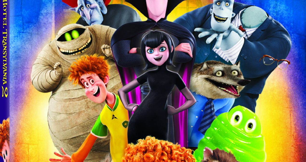 Hotel Transylvania 2 On Blu-ray 3D™ Combo Pack, Blu-ray™ Combo Pack & DVD Jan. 12+ {Give Away & Review}
