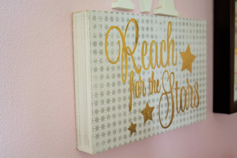 Girls Star Themed Room