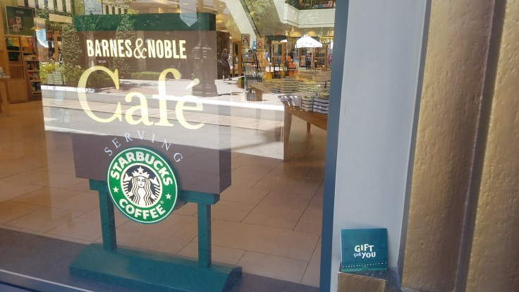 Barnes & Noble Starbucks Coffee Logo