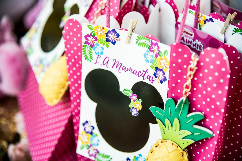 Minnie Mouse Luau Gift Bags