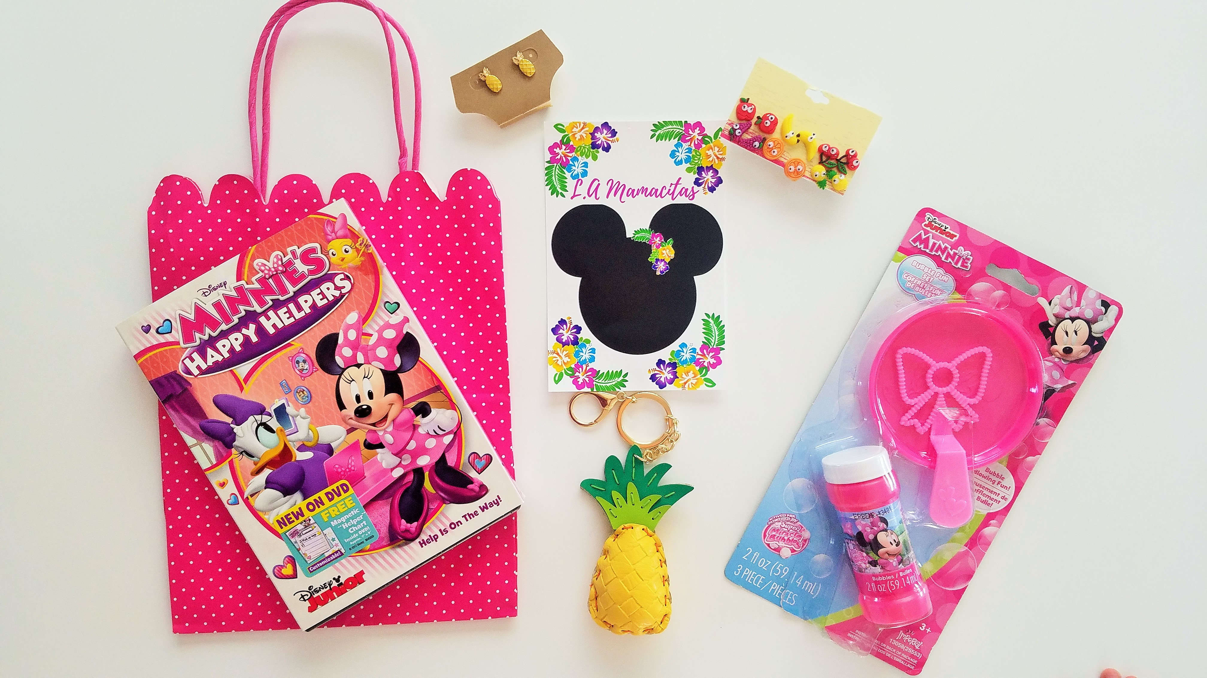 Minnie Mouse Luau Gift Bag
