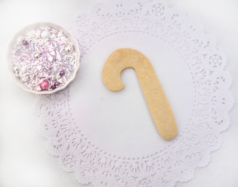 Candy Cane Sugar Cookie