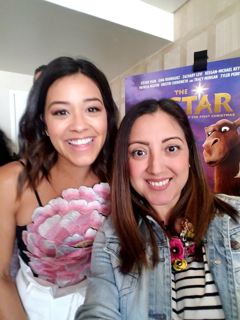 Gina Rodriguez The Star Press Junket