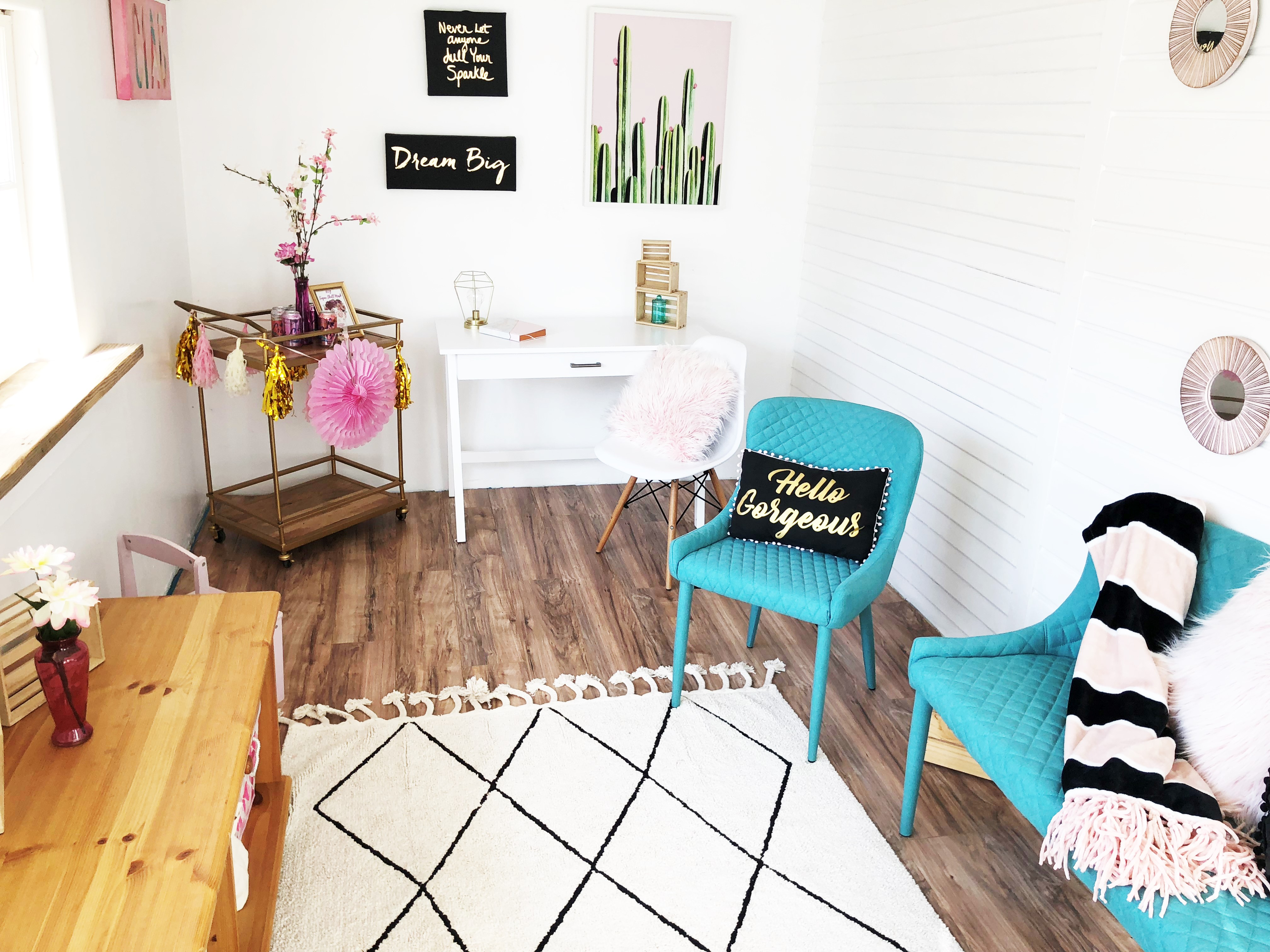 My Feminine Home Office