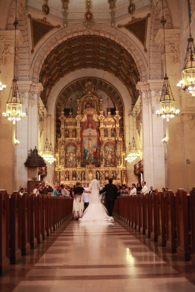 St. Vincent De Paul Los Angeles Wedding